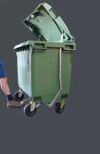 660 Litre Bin...with or without the BIG Lid Lifta