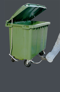 660 Litre Bin with the BIG Lid Lifta...