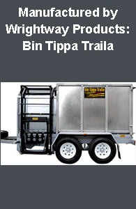 Tip-Trailer with Bin Lift & Empty.. in One